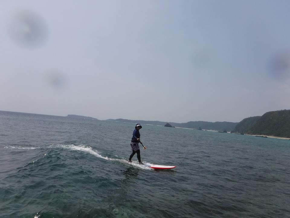 SUPサーフィン 女性